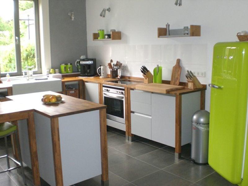 moderne Modulküche freistehend