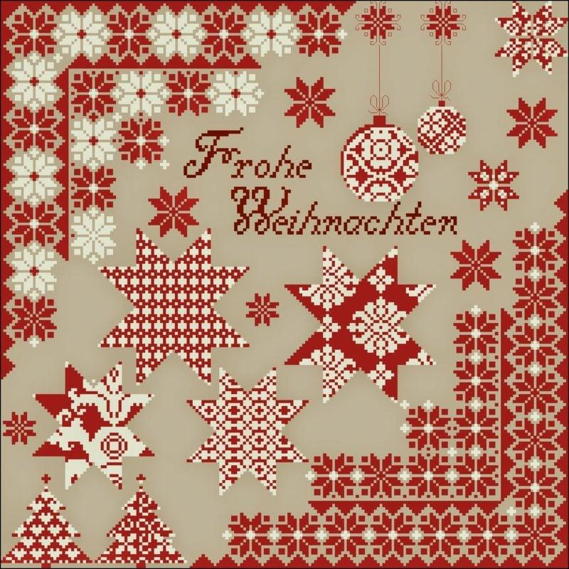 frohe Weihnachten auf verschiedenen Sprachen sagen
