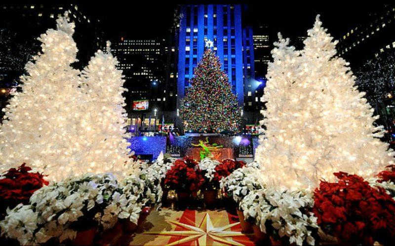 Weihnachten in New York rockefeller tree