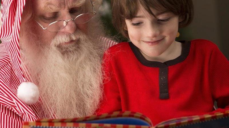Gedicht für Weihnachten Santa Claus