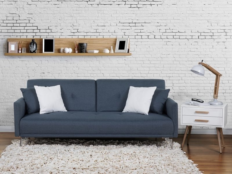 Jugendzimmer einrichten - Sofa eignet sich perfekt für Freunde Einladung