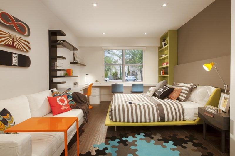 Jugendzimmer einrichten - Es gibt immer Platz für Couch