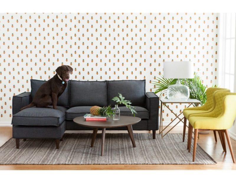 Jugendzimmer einrichten mit einem Couch und bequeme Sessel