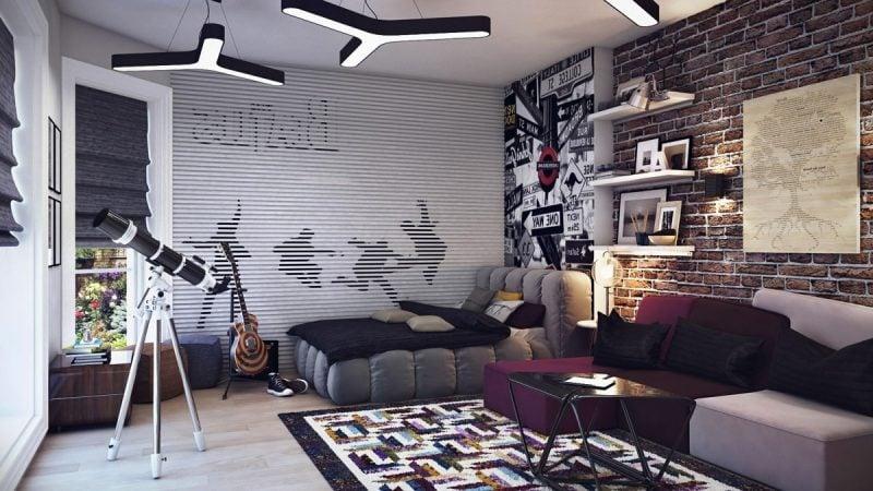 Jugendzimmer einrichten modern Design