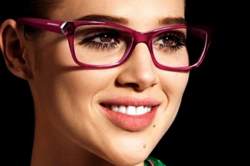 Brillenmode 2016 Herbst und Winter farbige Brillenfassungen rosa
