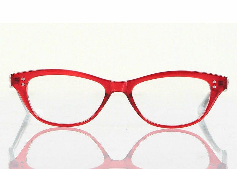 Brillenmode Herbst Winter 2016 trendige Brillen mit roten Fassungen