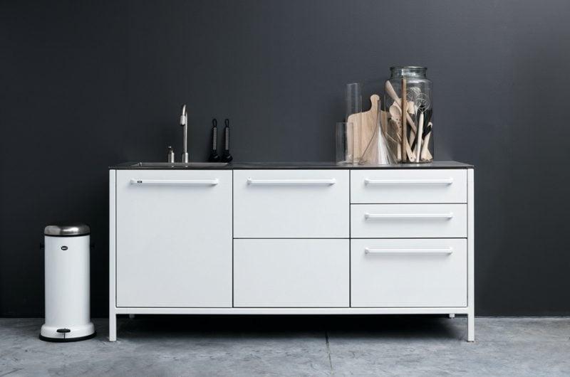 Küchenmodul weiss modernes Design