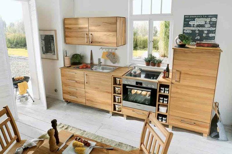 Lieblich Elegant Fabulous Welche Sind Die Vorteile Die Eine Modulkche Anbietet With  Modulkche Holz With Modulkche Holz