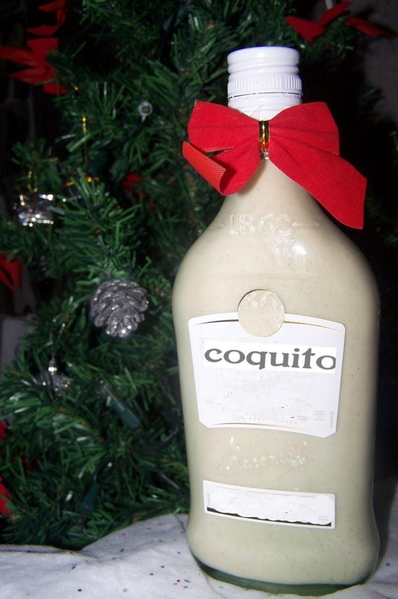 Nikolausgeschenk für Freund Weihnachtslikör Cocquito