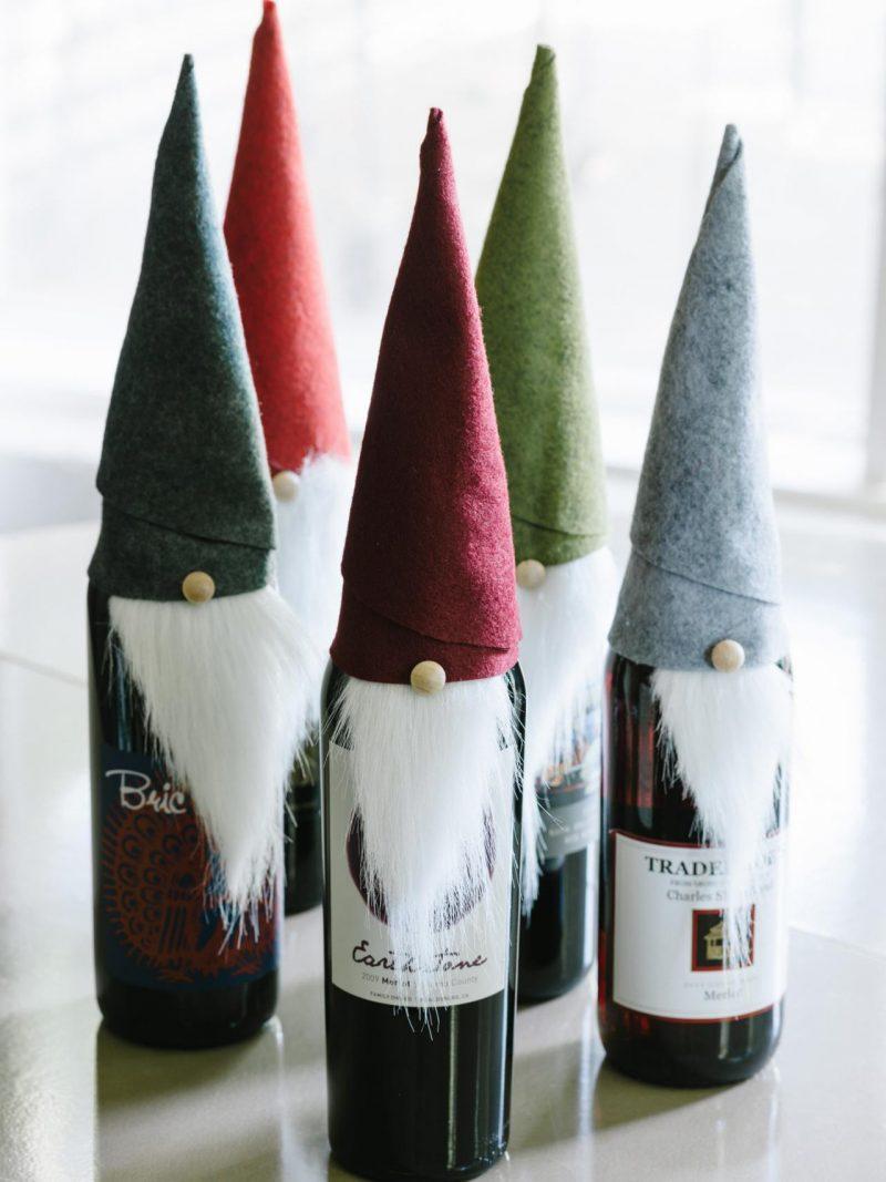 Nikolausgeschenk für Freund Weihnachtslikör spezielle Verpackung