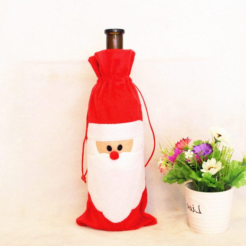 Nikolausgeschenk für Freund Weihnachtslikör Verpackung Weihnachtsmann