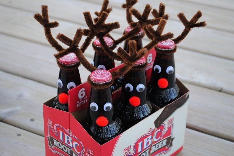 Nikolausgeschenken - Weihnachtsflaschen
