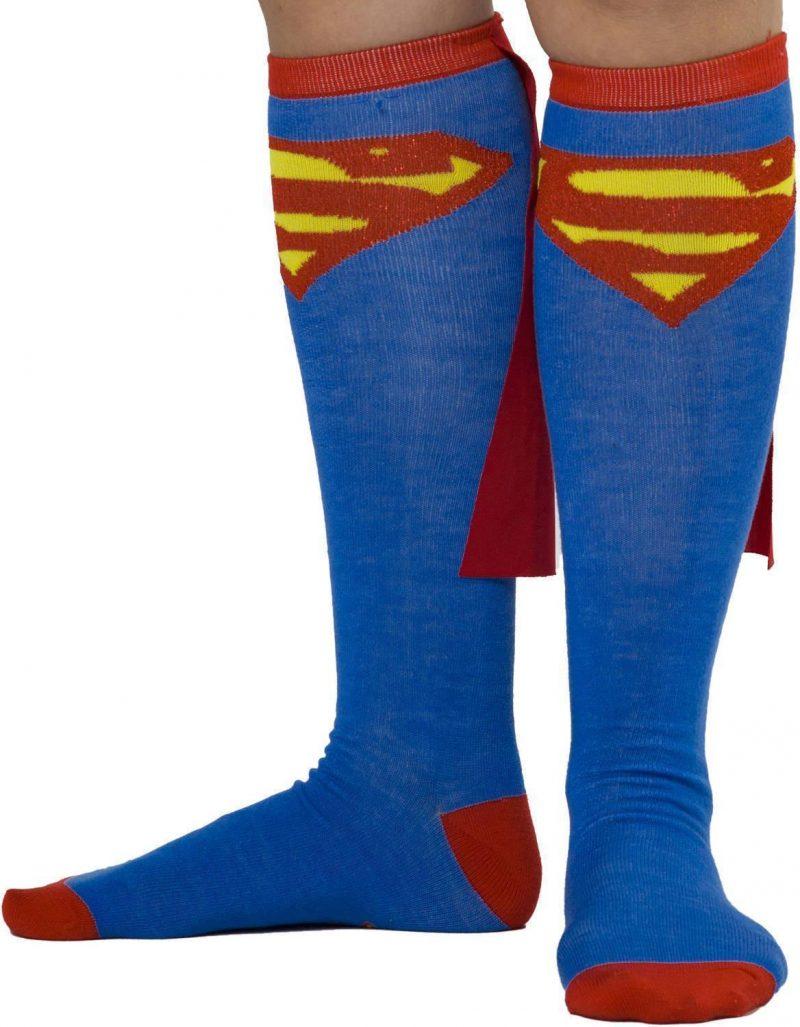 Nikolausgeschenke für Männer - Socken Superman
