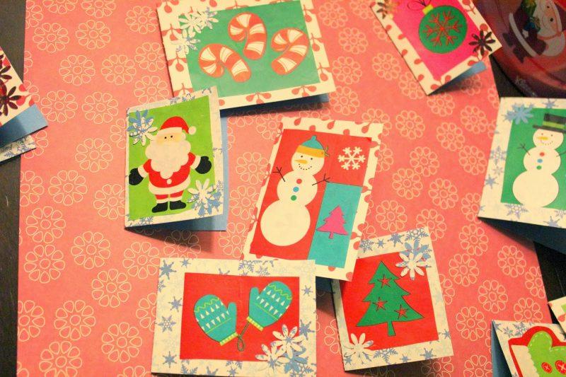 Nikolausgeschenke Karten für Weihnachten