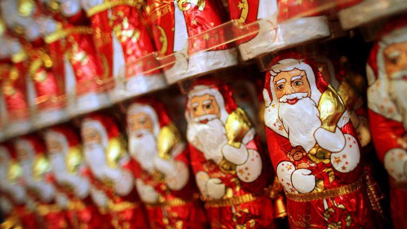 Nikolausgeschenke Schokoladen Santa Claus