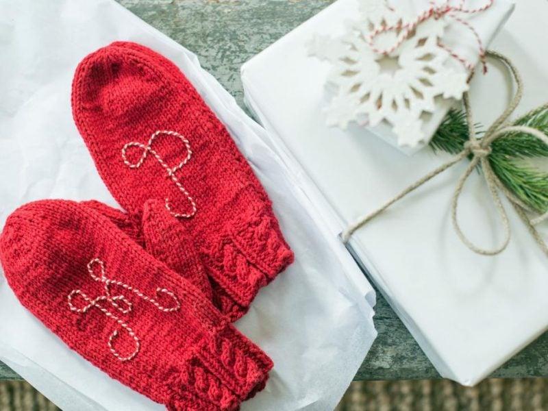 Die selbstgemachten Nikolausgeschenke passen perfekt zu selbstgemachten Stiefel