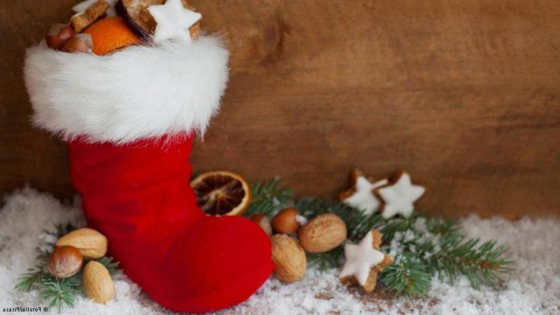 Die traditionellen Nikolausgeschenke sind Süßigkeiten