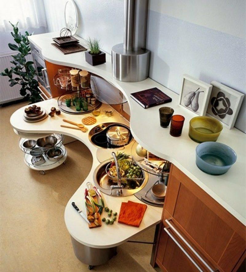 Modulküche modern und praktisch