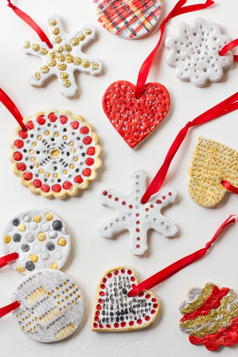 Salzteig Weihnachten - Rezept und Anleitungen