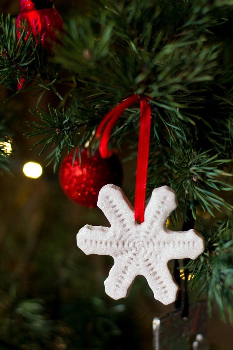 Salzteig Weihnachten Anhänger für Weihnachtsbaum