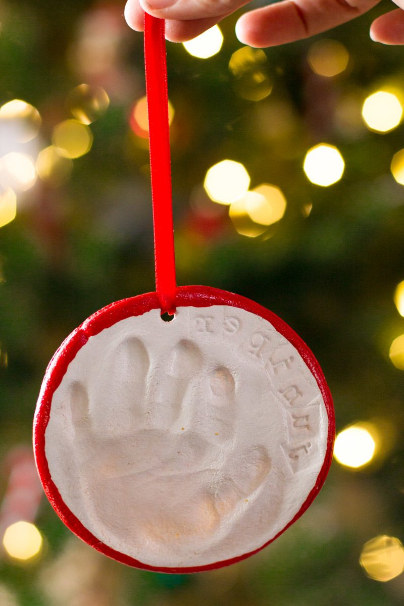 Salzteig Weihnachten Dekoration für Christbaum