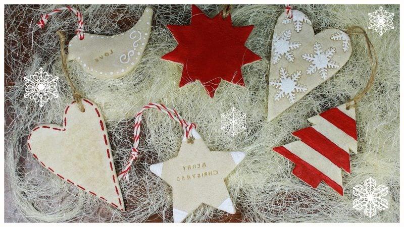 Salzteig Weihnachten Christbaumschmuck