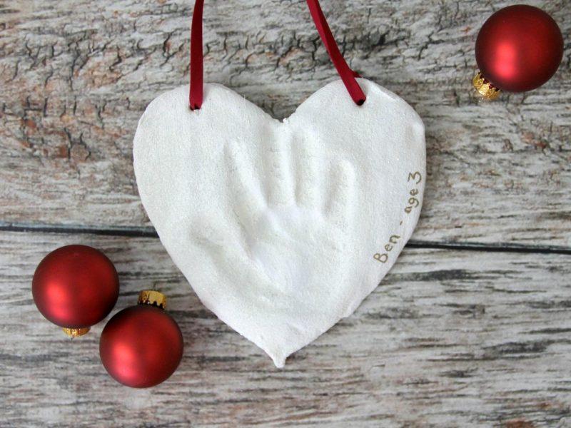 Salzteig Weihnachten Tür Dekoration