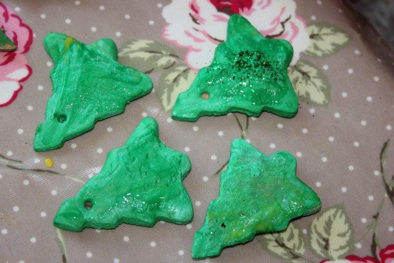 Salzteig Weihnachten Weihnachtsbaum basteln