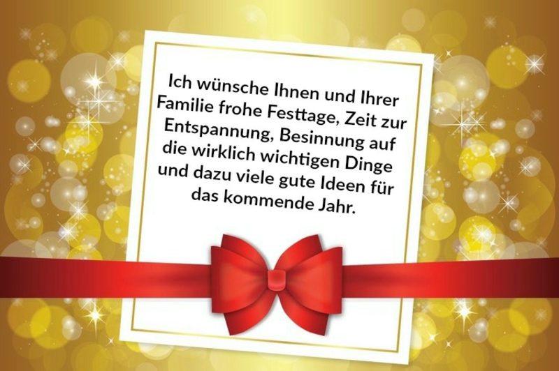 Weihnachtswünsche Arbeitswelt Kollegen Mitarbeiter
