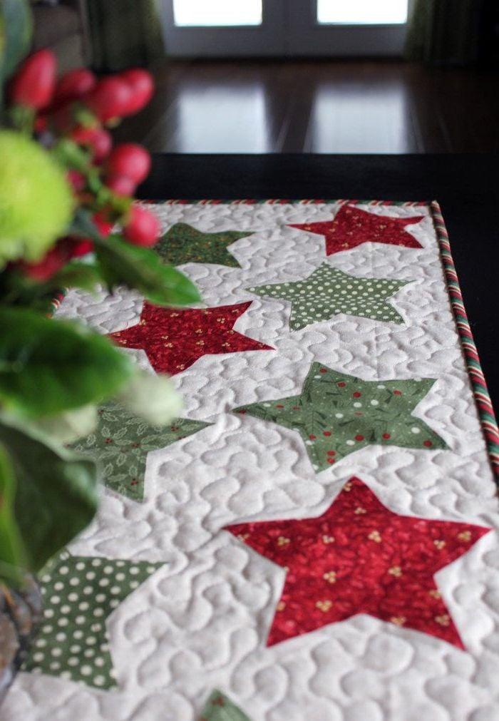 Tischläufer für Weihnachten selber nähen - Mehr als Deko - DIY ...