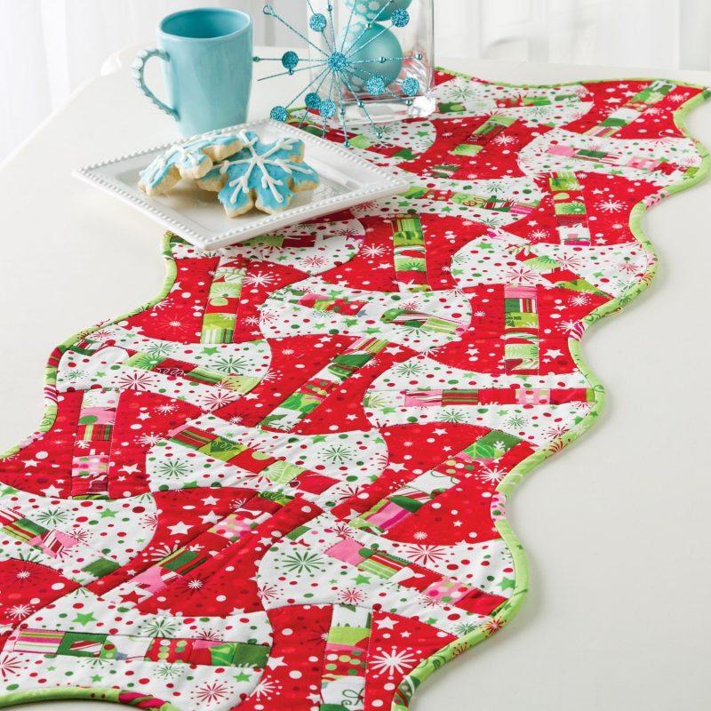 tischlaufer-weihnachten-diy