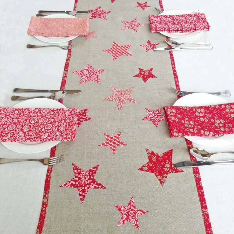 tischlaufer-weihnachten-mit-sternen