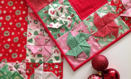 Tischläufer für Weihnachten selber nähen - Anleitung