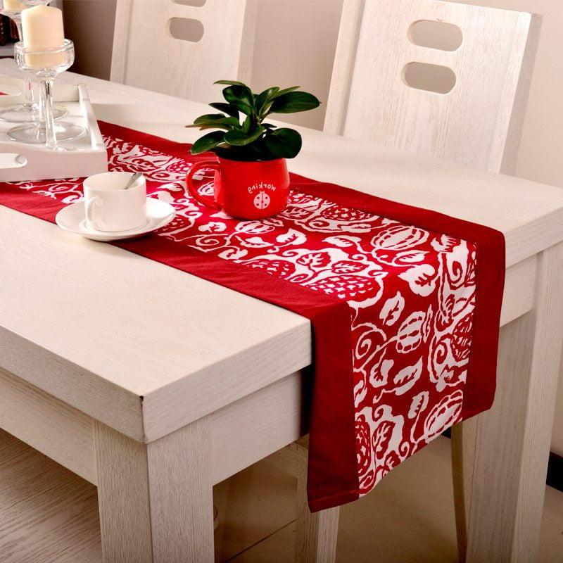 tischlaufer-weihnachten-rot
