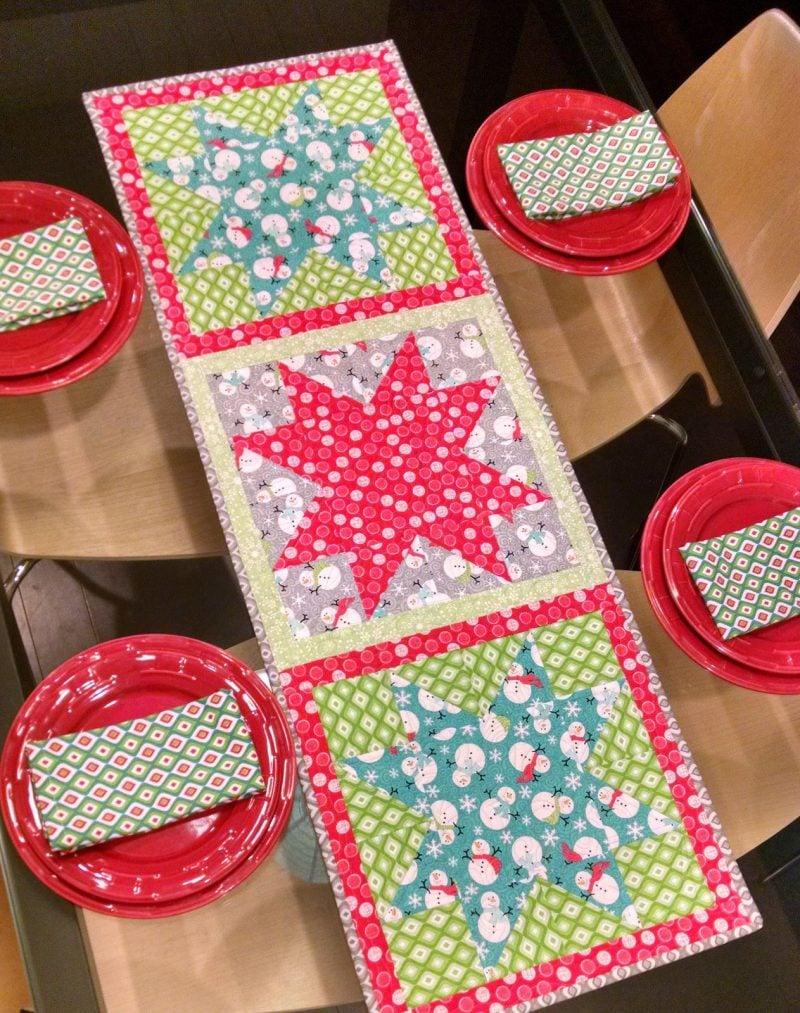 Tischl ufer f r weihnachten selber n hen mehr als deko diy weihnachtsdeko ideen zenideen - Stuhlhussen selber nahen ...