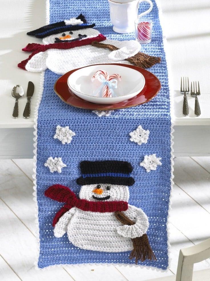 tischlaufer-weihnachten-stricken