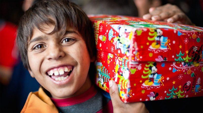 Weihnachten im Schuhkarton - Freude bringen