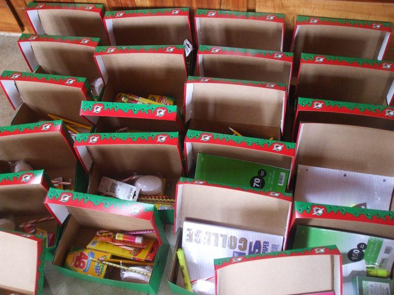 Weihnachten im Schuhkarton Initiative