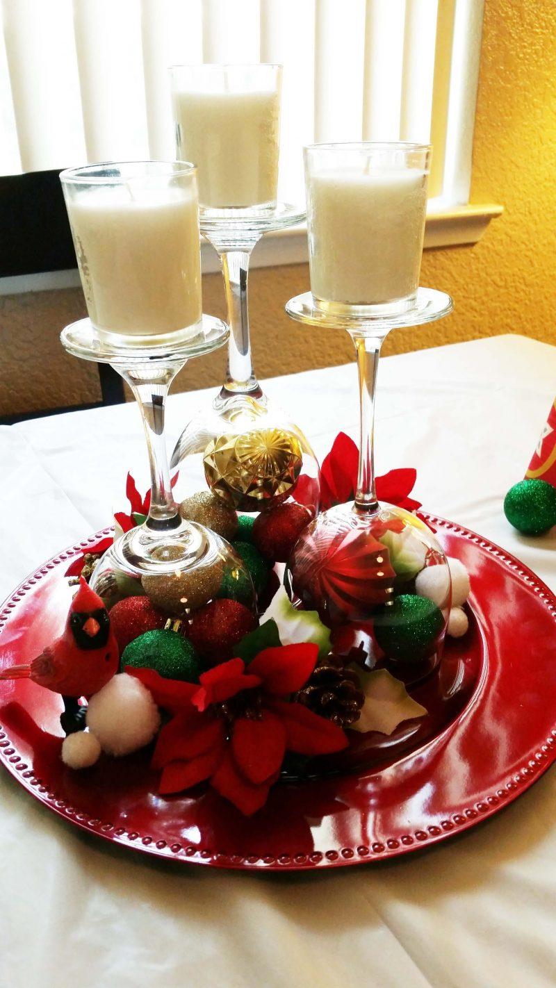 Tisch weihnachtlich dekorieren mit DIY Ideen