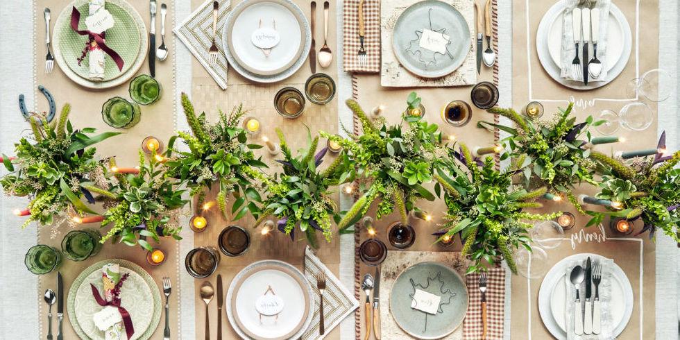 tisch weihnachtlich dekorieren 41 deko ideen f r weihnachtstafel deko feiern. Black Bedroom Furniture Sets. Home Design Ideas