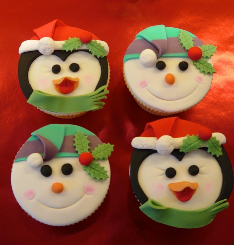weihnachts cupcakes cupcakes