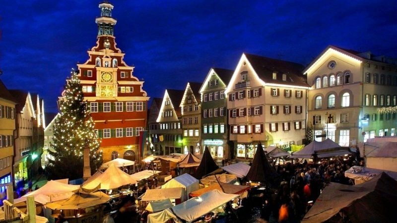 Weihnachtsgrüße esslingen market esslinger stadtmarketing