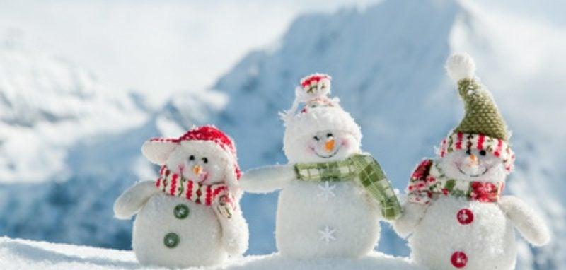weihnachtsgrusse weihnachten schneemanner