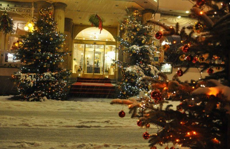 Weihnachtsgrüße weihnachten im hotel