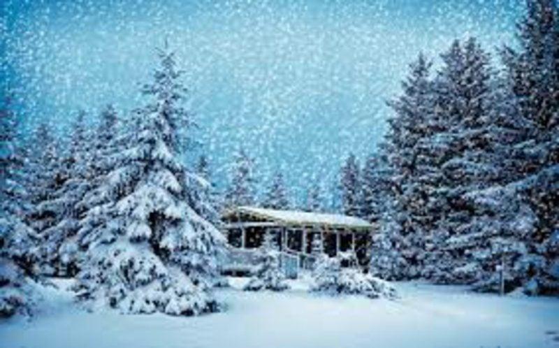 weihnachtsgrusse schnee