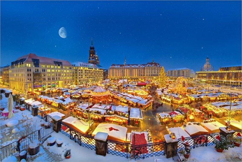 Weihnachtsgrüße dresden striezelmarkt