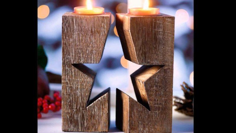 Weihnachtsgrüße weichnachtsdeko holz