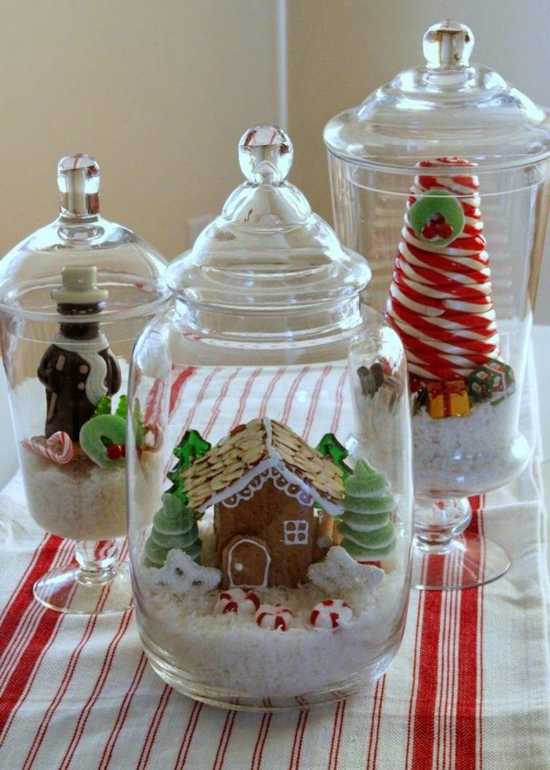 Weihnachtsgrüße weihnachtsdeko glas selber machen geschenke