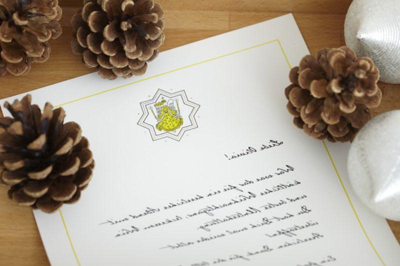 Weihnachtsbriefe schreiben