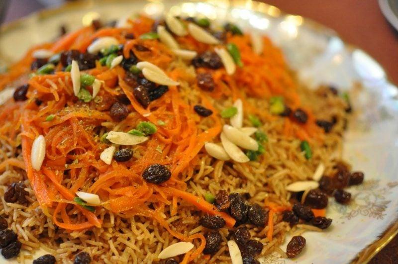 afghanische kuche kabuli pulav